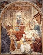 Birth of Mary sdg GOZZOLI, Benozzo